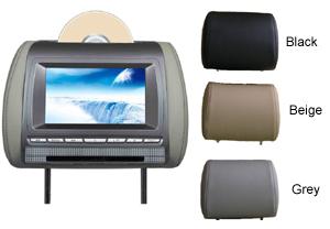 Schneider Headrest DVD Player Rear Entertainment System