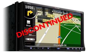 Eclipse AVN726ea Navigation DVD Player Bluetooth Ipod Video DivX