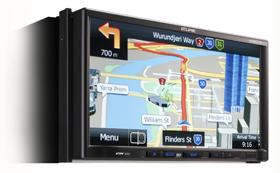 Eclipse AVN827GA Navigation DVD Player Bluetooth Ipod Video DivX