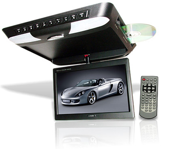Schneider TR-1020 10.2 inch Ovehead Roof Mount DVD Player System