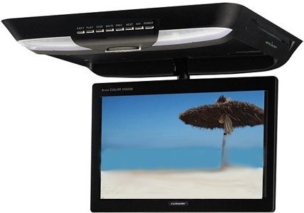 Schneider TR-9020 9 inch Ovehead Roof Mount DVD Player System