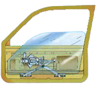 Power Window Conversion Regulater